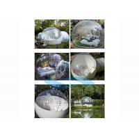 Inflatable Bubble Tent Night / Clear Igloo Tent / Inflatable Camping Tent Manufactures