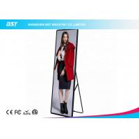 China Square Indoor Digital Display Boards , Vertical Indoor LED Display Signs on sale