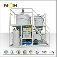 China Low Noise Waste Engine Oil Recycling Machine , DN 42 Oil Regeneration Equipment on sale