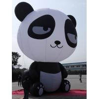 Quality Oxford Cloth Inflatable Panda , Custom Inflatable Products Cartoon Inflatable Pet for sale