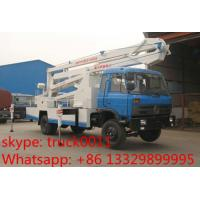 Quality Dongfeng Euro 3 170hp 18m-20m aerial working platform truck for sale, dongfeng 145 18m high altitude operation truck for sale