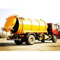 Buy cheap Tilt Steering Wheel Vacuum Sewage Suction Truck / Sewage Cleaning Truck from wholesalers