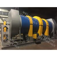 Adjustable Speed Rotary Kiln Dryer For Drying Slurry 18 . 5 - 255KW 50 / 60Hz Manufactures