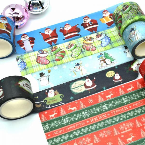 Quality Decorative Christmas Washi Tape for sale