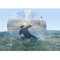 Big Transparent PVC Inflatable Water Walking Ball For Playing Center , Lake Manufactures