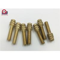 Custom Precision CNC Machined Parts , Plastic Injection Brass Insert Fittings Manufactures