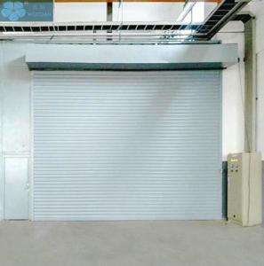 1.5mm 50mm Slat Aluminium Roller Shutter Doors For Garage Manufactures