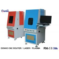 Highly Efficient Fiber Laser Marking Machine With Protective Shave Stop Laser Reflection Manufactures