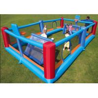 The 18oz PVC Inflatable Sports Games Football Beach Volleyball Field With Kids Manufactures