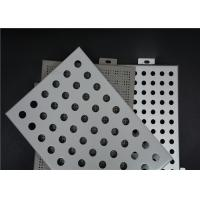 Easy Installation Perforated Aluminum Panels Good Plasticity Perforated Aluminum Plate Manufactures