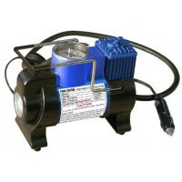 Metal Car Tire Air Compressor With Lamp / 100PSI Small Air Compressor For Tires Manufactures