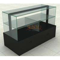 MDF Display Stands Acrylic Window Displays For Retail Stores Black Manufactures