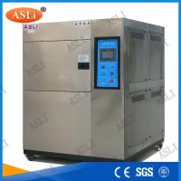 Three Zone Programmable Cold Thermal Shock Testing Chamber  with touch screen controller Manufactures