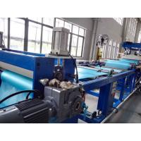 PVC Soft Sheet Extrusion Machine , Flexible PVC Sheet Extrusion Production Line Manufactures