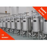 High Precision Single Bag Filter Housing Stainless Steel Liquid Filtration Manufactures