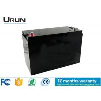 Safety Electric Car Battery 48V 100ah , Lithium Ion Rechargeable Battery Manufactures
