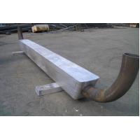 MIL-A-24779 Alloy Aluminum Cathodic Protection Anodes For Seawalls / Pilings Manufactures