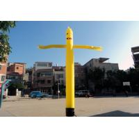 Good Tension Inflatable Air Dancer Advertising Products , Inflatable Dancing Man Manufactures
