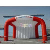 Outdoor Fabric Inflatable Tradeshow Event Tent / Outdoor Event Advertisment Tent With Printing Manufactures