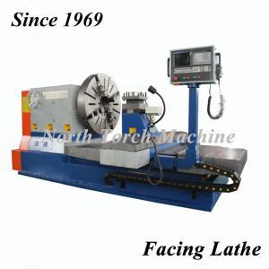 China 1000mm PLC Cnc Turning Flange Metal Lathe Machine on sale