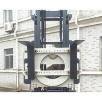 Forklift Fork Attachments , Rotating Forklift Attachment Easy Installation Manufactures