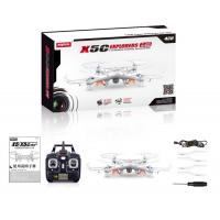 Quality New Version SYMA X5C 2.4GHz 4CH HD FPV Camera 6 Axis RC Helicopter Quadcopter for sale