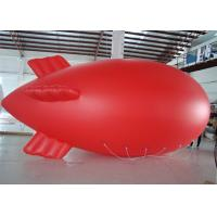 Red Helium Advertising Balloons For Promotion With PVC Material Manufactures