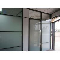 Double Glazing Aluminium Office Partition Easy Assembly Heat Insulation Manufactures