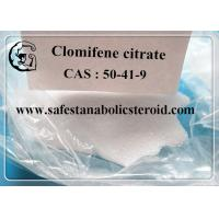 Legal Oral Steroids Hormone Clomifene Citrate Clomid Powder CAS 50-41-9 Assay 99% Manufactures