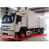 2017s SINO TRUK HOWO 25tons refrigerated truck with THERMO King refeer for sale, best price HOWO 336hp cold room truck Manufactures