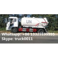 dongfeng tianjin 10,000L vacuum sewage suction truck for UN, hot sale dongfeng brand LHD 4*2 sewage suction truck with Manufactures