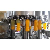 China Super Automatic Bottle Filling Machine , Blowing Filiing Capping Machine For Juice on sale