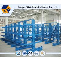 Customized Single / Double Sided Cantilever Rack For Warehouse Manufactures