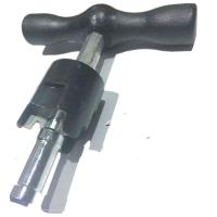 PAP pipe rounder plastic bar gauge with reamer for PEX-AL-PEX Manufactures