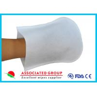 Coat Plastic Film Body Wash Gloves Small Dot 50 % Vis + 50 % Pes Material Manufactures