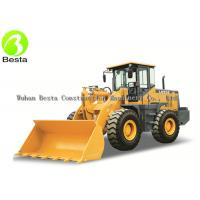 Heavy Duty 5Ton Front End Wheel Loader  5000KG  With Diesel Motor Manufactures