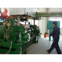 1800 - 2500 Kg/h two roll mill rubber mixing for for plasticizing , calendaring Manufactures