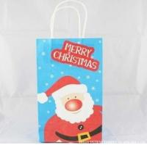 China Christmas Gift Paper Bag/kraft paper/cardboard shopping bag on sale