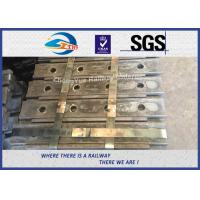 High Tensile Railway Fish Plate For P50 Steel Rail Chinese GB Standard Joint Bar 45# Manufactures