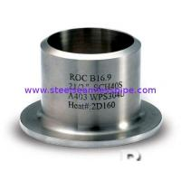 Buy cheap Flange lap joint in welding , steel lap joint flange for pipes and tube, 1/2