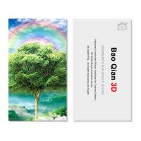 Zoom Effect Flip 3D Lenticular Printing Name Cards Round / Square Shape Manufactures