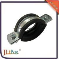 Quality M8 Nut Pipe Clamp Fittings Metal Pipe Hangers 3 Inch Ventilation Pipe Clamp for sale