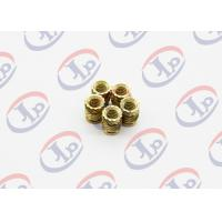 High Precision Lathe Machining Parts, Small Brass Knurling Inserts Manufactures