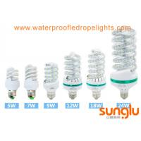 Buy cheap S Type LED Corn Light Bulb E27 / B22 24W Spiral Cool White For Home Decoration from wholesalers