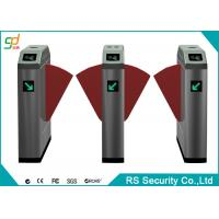 Mtero Automatic Flap Barrier Turnstiles With High Sensitivity Sensor Manufactures