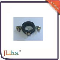6mm-63mm Size Single Clamp On Pipe Fittings M7 With EPDM Rubber Yellow Zinc Galvanize Manufactures
