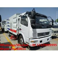 Buy cheap 2018s factory sale cheapest price CLW brand diesel road sweeping and washing vehicle, street sweeper and cleaning truck from wholesalers