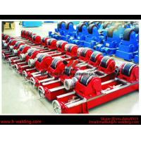 80Ton Lead-Screw VFD Control Welding Turning Rolls / Rotators For Cylinder Cycle Seam Manufactures