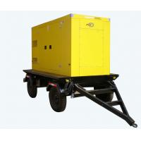 Yuchai 250KVA Electric Diesel Generator Silent Type With 4 Wheels Manufactures