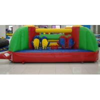 PVC Tarpaulin Boxing Playground Inflatable Sports Games Excellent Peeling Manufactures